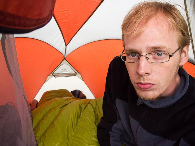Teltassa loikoilua. Meutaluoppal, Ruotsi