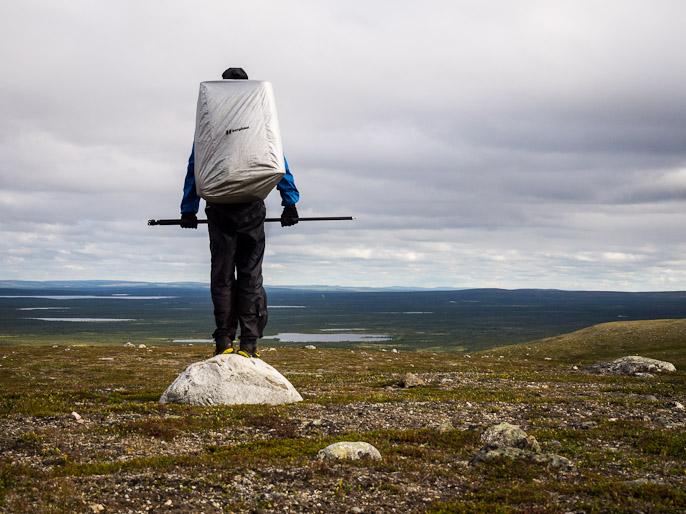 """""""Vain"""" 600 metrin korkeudella, mutta koko muu ympäristö alapuolella. Rivkkos, Norja"""