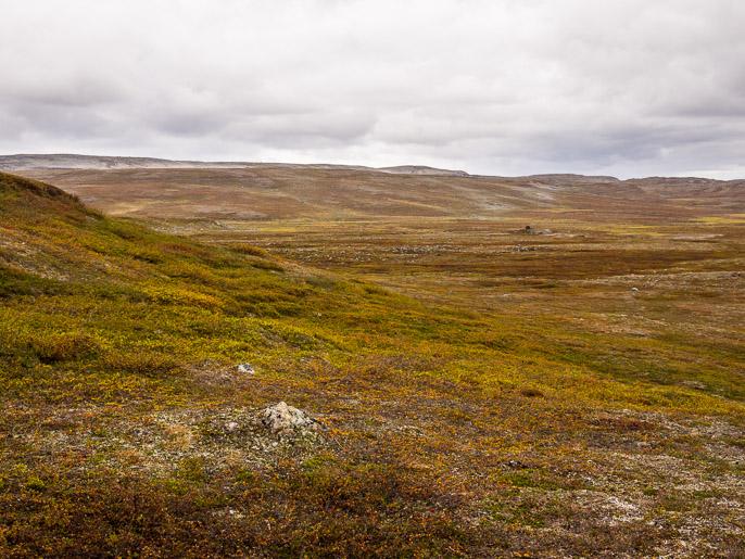 Finnmarkia. Juoksavuopmi, Norja